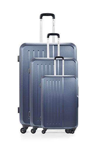 ANTONELLE Set de 3 trolleys rígidos Mabillon Azul Marino Azul Marino