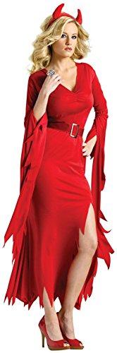 Gothic Devil Costume - Medium/Large - Dress Size 10-14