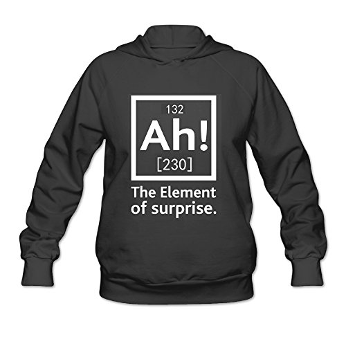 Ah The Element Of Suprise 230 Chemistry Women's Hooded Sweatshirt