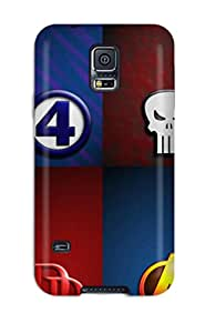 Jennifer Guelzow's Shop Tpu Case Skin Protector For Galaxy S5 Marvel With Nice Appearance