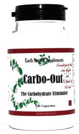 Carbo-Out *Fat and Carb Blockers with White Kidney Bean Extract (Phaseolus Vulgaris), Nopal Cactus, Gymnema Extract, Magnolia Bark, Trace Mineral, Powder and Banaba Leaf. 240 capsules (2 Bottles)