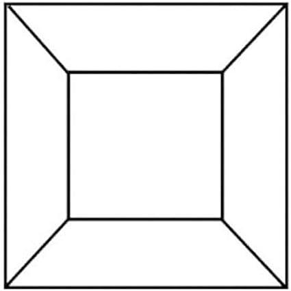 Box of 30 2 Square Bevel