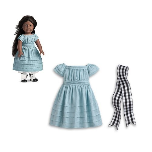 American Girl Addy's Blue Dress (Doll Not - American Girl Doll Addy