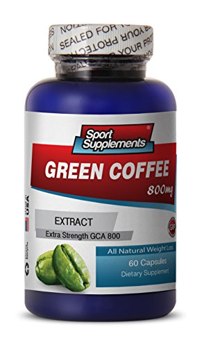 Green Coffee Pure Cleanse – Green Coffee Extract 800mg – Premium Fat Burner Herbal Natural Green Coffee Bean Extract (1 Bottle 60 Capsules) Review