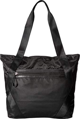 XOXO Womens Nylon Tote Black One Size (Ladies Handbags Xoxo)