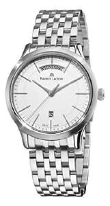 Maurice Lacroix Men's LC1007-SS002130 Les Classiques Quartz Silver Day Date Dial Watch