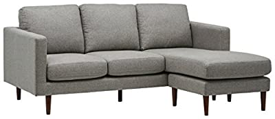 Rivet Revolve Modern Reversible Sectional, Accent Chair, Loveseat, Sofa, Sofa Bed