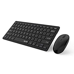Wireless Keyboard and Mouse, Jelly Comb 2.4G Slim Compact Quiet Small Keyboard and Mouse Combo for Windows, Laptop, PC…