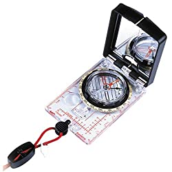 SUUNTO 9001682 Mc-2G Usgs Mirror Compass, Black