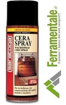 Cera Spray Per Mobili Antichi E Moderni E Pavimenti In Legno 400 Ml