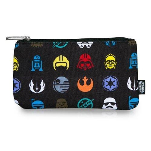 Star Wars Multi Symbol AOP Print Pencil Case