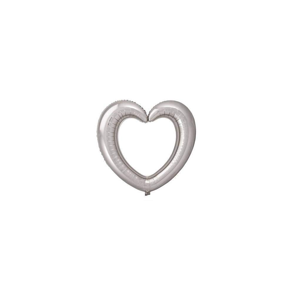 folat balón de papel de aluminio supershape 80 x 75 cm Corazón ...