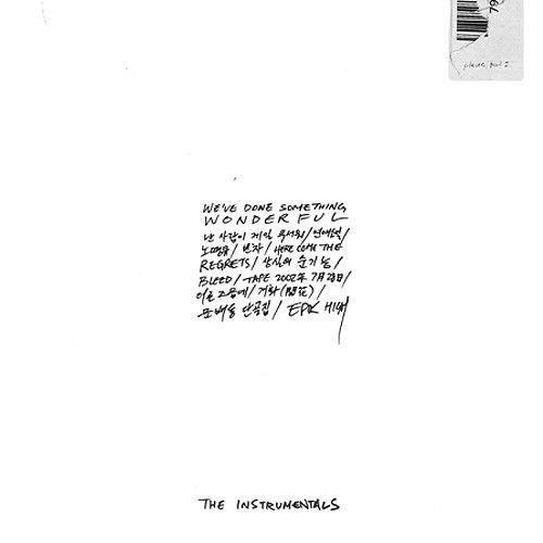 EPIK HIGH [WE'VE DONE SOMETHING WONDERFUL] THE INSTRUMENTALS Album CD+Booklet+Tracking Number K-POP