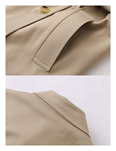 Trench Bavero Giaccone Baggy Cintura Camel Donna Primaverile Fashion Classiche Marca Lunga Outerwear Casuali Autunno Mode Di Manica Giacche Giubotto Eleganti Inclusa xsrhQdCtB
