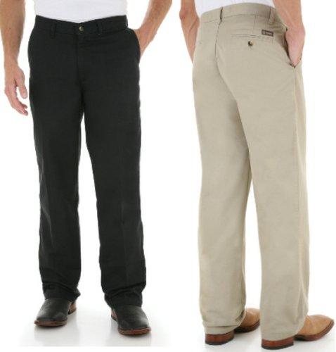 Men's Wrangler George Straight Cowboy Cut Casual Jeans, BLACK, W29 L32