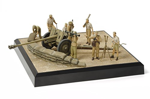 Tamiya Diorama (Tamiya Models German 7.62cm PAK 36(r) North Africa Scenery Set)
