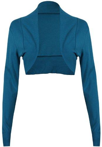 Moulante Hanger Pour Femme Longues Cardigan Coupe Manches Bolero Purple Sarcelle TxYqZAx