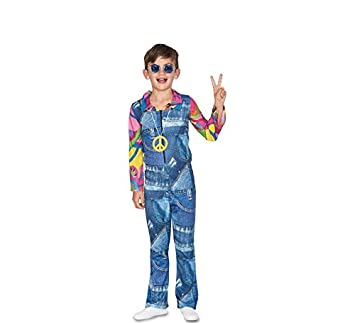 Fyasa 706463-t01 Hippie Disfraz Infantil de Cowboy, medium: Amazon ...