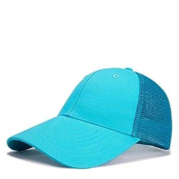 HONGHENG Algodón Camionero Sombreros Mujeres Verano Liso Sol ...