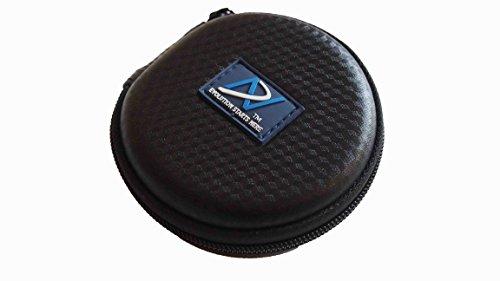 DN5PRO Tragetasche/Schutzhülle für in-Ear Kopfhörer. Für Bose SoundTrue In-Ear, Bose Soundsports, Bose IE2 Audio Kopfhörer, Sennheiser CX Kopfhörer, Sennheiser Momentum in-Ear-Kopfhörer, Shure SE und ähnlich In-Ear Modelle Kopfhörer