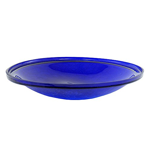 Achla Designs Crackle Glass Cobalt
