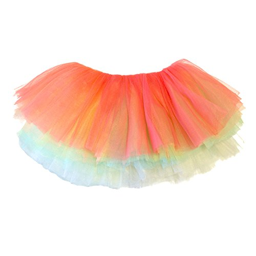 My Lello Baby Tutu Short Ballet Skirt 10-Layer (Newborn - 3mo.) Sorbet Pastel -