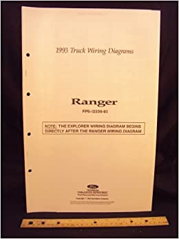 1993 ford ranger truck electrical wiring diagrams / schematics: ford motor  company: amazon com: books