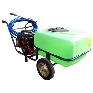 Pulverizador eléctrico sobre 2 ruedas Taral - 100 litros - 25 bar ...