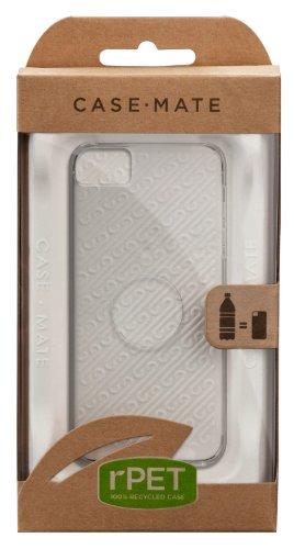 Case-Mate CM022578 rPET Schutzhülle für Apple iPhone 5 transparent