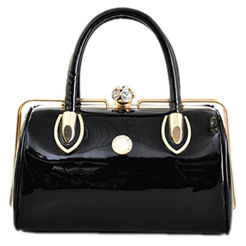 Handbag Fashion Bag amp;OS Tote Evening Women Wedding Crystal Bag horizontal black ZJ Bag Bride Ladies w7ZxSq75