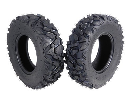 MASSFX SL25812(x2) Big Horn 6PLY 25x8-12 Front ATV Tire, 2 Pack 25