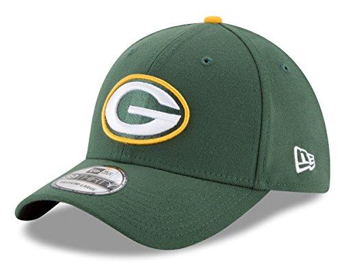 NFL Green Bay Packers Team Classic 39THIRTY Stretch Fit Cap, Medium/Large, Green (Green Bay Packer New Era Hat)