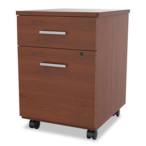 Linea Italia SV752CH Seven Series Mobile Pedestal File, Box/File Drawer, Cherry
