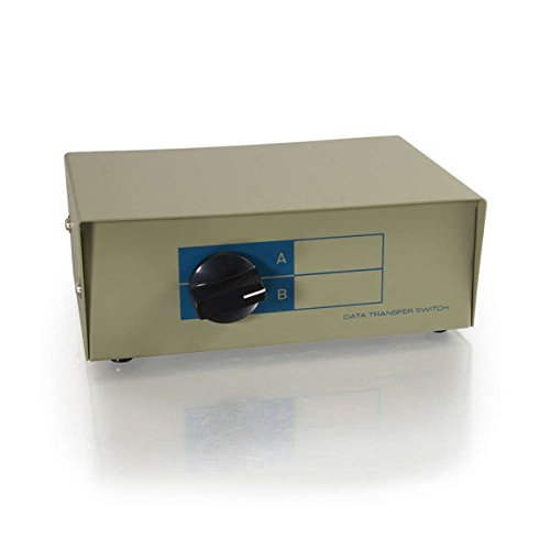 (C2G/Cables to Go 03289 2-Port DB25 Manual Switch Box)
