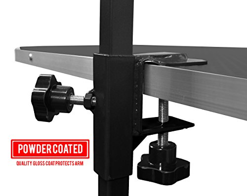 Downtown Pet Supply Grooming Arm with Clamp (36'' Adjustable Arm-Black) and Dog Grooming Loop + Two Free No Sit Haunch Holders by Downtown Pet Supply (Image #5)