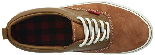 Basses Ginger U adulte Marron Mte Sneakers Glazed Era Mte Vans mixte xXwRdAqvX6
