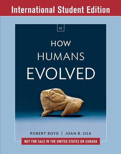 How Humans Evol 8E ISE Pa W/Ei PDF