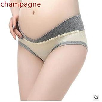 e32d4b809 Pymacin - New Cotton Pregnant Women Underwear U-Shaped Low Waist Maternity  Underwear Pregnancy Briefs