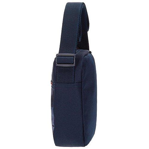 Pepe Jeans Dales Jr Bolso Bandolera, 21 cm, 2.5 Litros, Azul