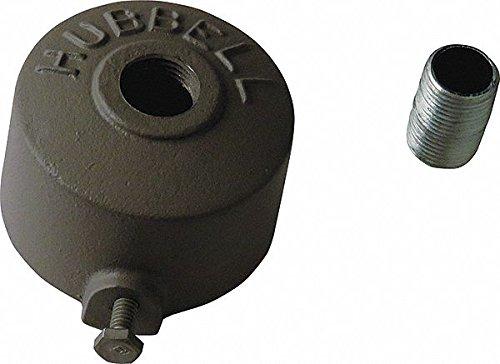 7-1/4'' x 7-1/4'' x 7-1/2'' Aluminum Pole Top Slipfitter, Dark Bronze