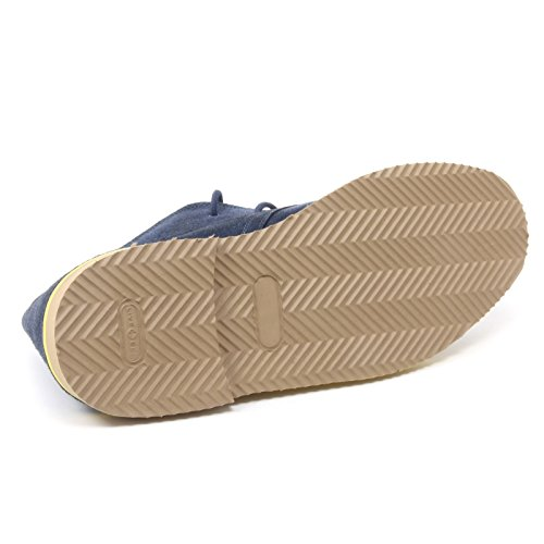 B4022 polacchino uomo LECROWN DESERT BOOT scarpa blu navy shoe man [41]