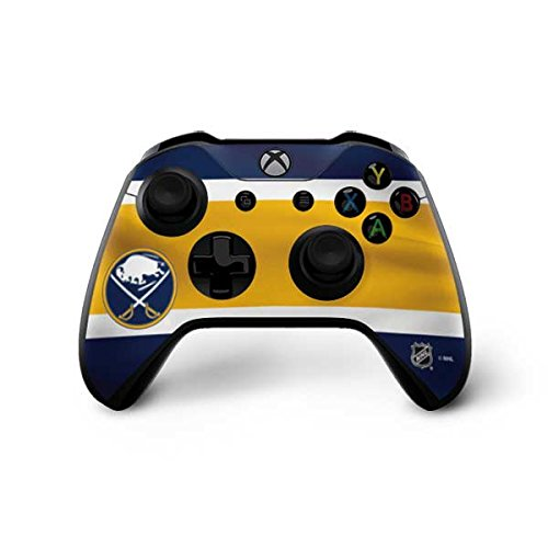 Skinit Buffalo Sabres Jersey Xbox One X Controller Skin - Officially Licensed NHL Gaming Decal - Ultra Thin, Lightweight Vinyl Decal Protection