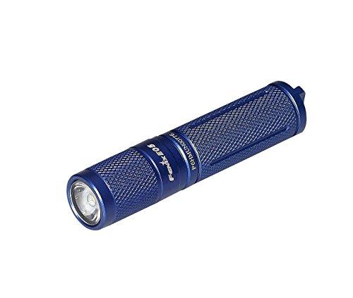 Fenix E05 Blue Flashlight 2014 Edition 85 Lumen LED KeyChain with LegionArms AAA Battery