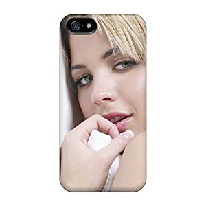 Durable Defender Case For Iphone 5/5s Tpu Cover(gemma Atkinson Girl)