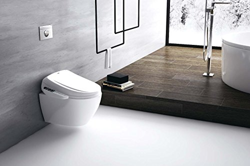 Awe Inspiring Beir Advanced Bidet Seat Br 300 Smart Toilet Seat With Temperature Controlled Wash Functions And Air Dryer Caraccident5 Cool Chair Designs And Ideas Caraccident5Info