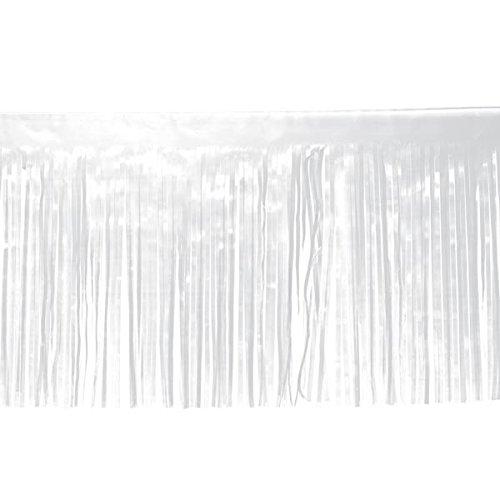 White Vinyl Fringe - 15