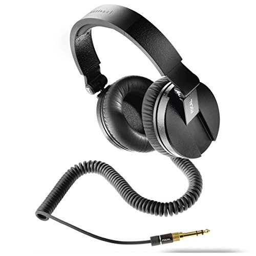 Focal Spirit Professional Closed Back Circum-Aural Studio Headphones (Black)