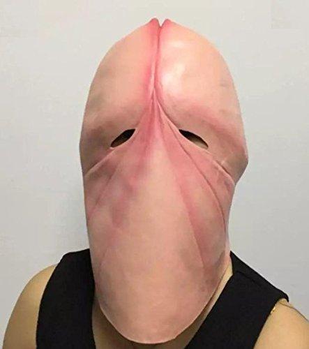 フェイスマスク ハゲ グッズ カツラ コスプレ お笑い 男性 【SDR】