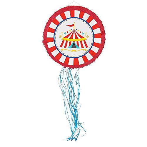 Carnival Pull Sting Pinata - Carnival and Circus Party Decorations -