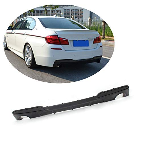(MCARCAR KIT For BMW 5 Series F10 528i 535i 535i 550i M Sport 2012-2016 Customized CNC Moulding Half Carbon Rear Bumper Lower Diffuser)